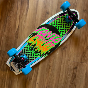 "SANTA CRUZ - Rad Dot 27.7"" Shark Cruiser Skateboard"