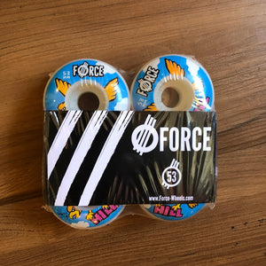 FORCE - Hill Hawk 53mm/101a Skateboard Wheels