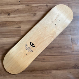 THESPEAKEASY - Raw Skateboard Deck