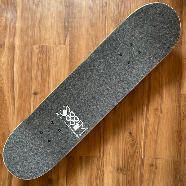 THESPEAKEASY - Raw Complete Skateboard