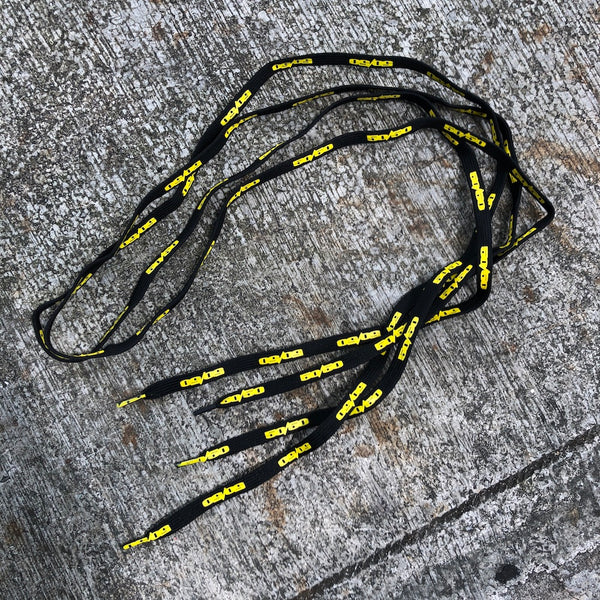 50/50 - Yellow Skate Laces