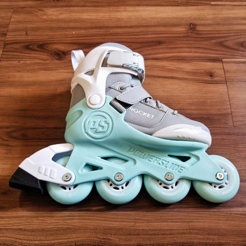 POWERSLIDE - Rocket (Grey) Adjustable Kids Inline Skates