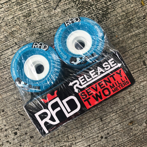 RAD - Release 72mm/82a Longboard Wheels