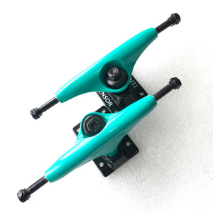 TENSOR - Alloy Teal/Black Skateboard Trucks