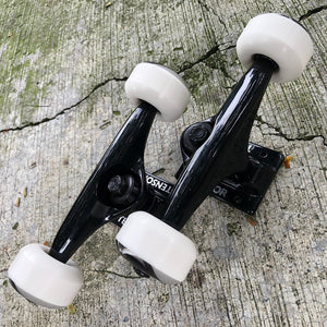 "TENSOR - Black (5.25"") Skateboard Truckset"