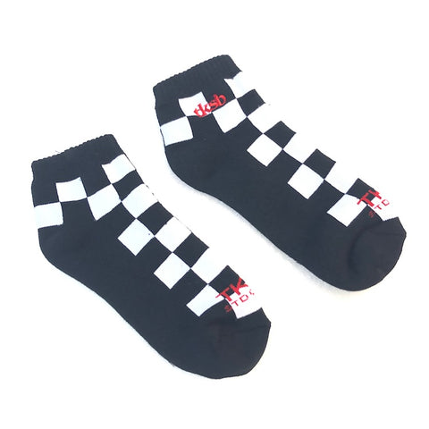 TKSB - Checkers Ankle Socks - Wheel Love Skateshop