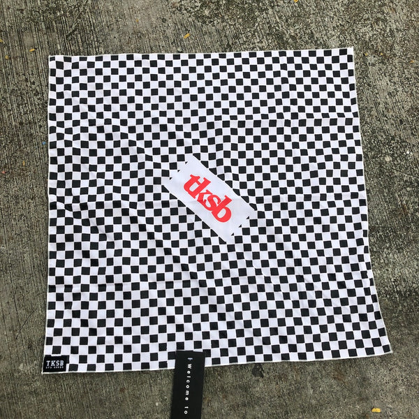TKSB - Checkers Bandana