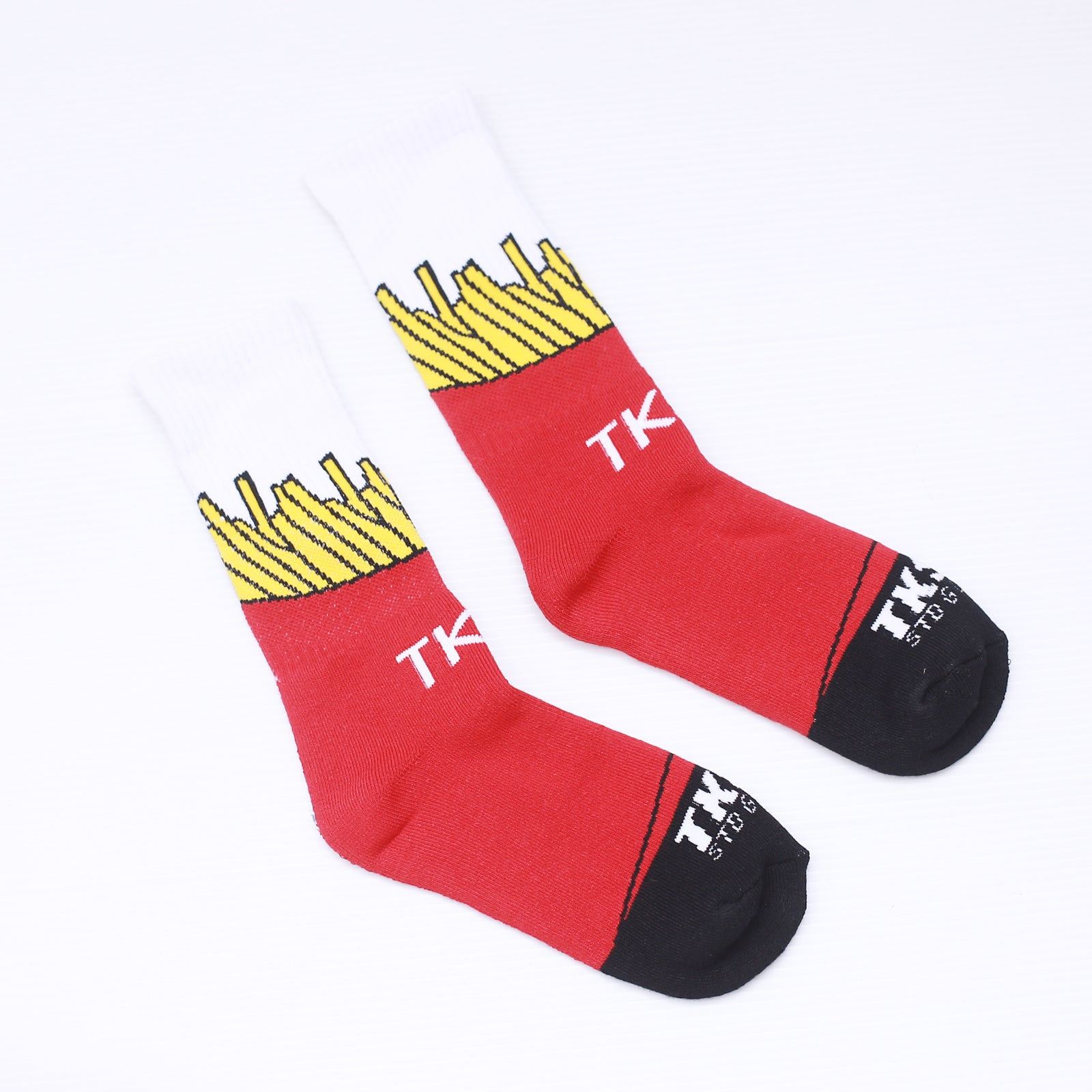 TKSB - Fries Socks - Wheel Love Skateshop