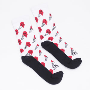 TKSB - Melting Ice Cream Socks - Wheel Love Skateshop