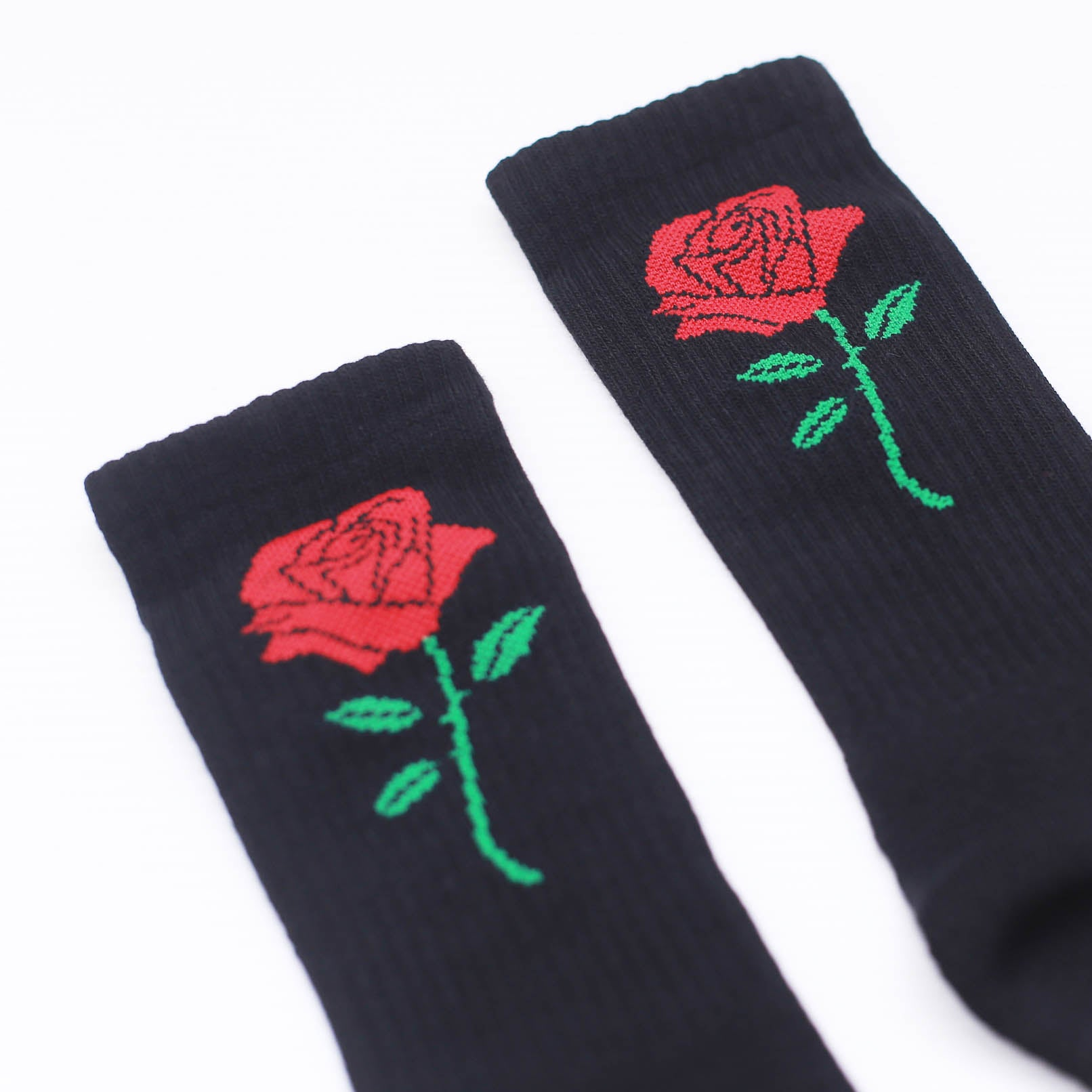 TKSB - Rose Black Socks - Wheel Love Skateshop