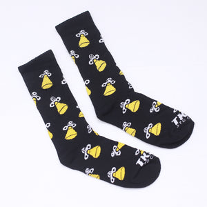 TKSB - Spaceship Black Socks - Wheel Love Skateshop