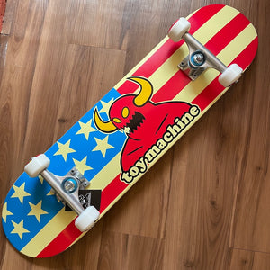 "TOY MACHINE - American Monster (7.75"") Complete Skateboard"