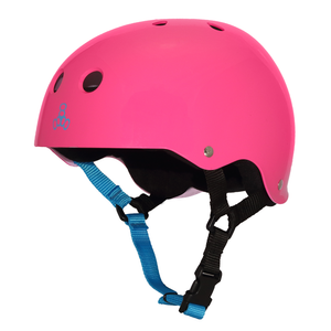 TRIPLE 8 - Sweatsaver (Neon Fuschia Gloss) Helmet