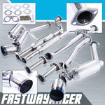 03-07 Infiniti G35 2DR Full Stainless Steel Dual Catback Exhaust