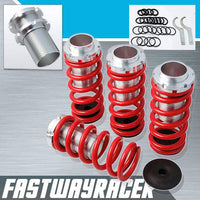 88-91 Honda CRX Red Lowering Spring Coilover Sleeve