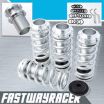 93-97 Honda Del Sol Silver Lowering Spring Coilover Sleeve