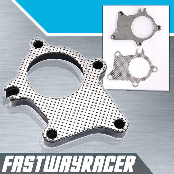 2.5&#39&#39 5 Bolt Turbo Downpipe Flange with Gasket