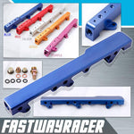 90-01 Acura Integra B-series DOHC Blue Aluminum Fuel Injection Rail