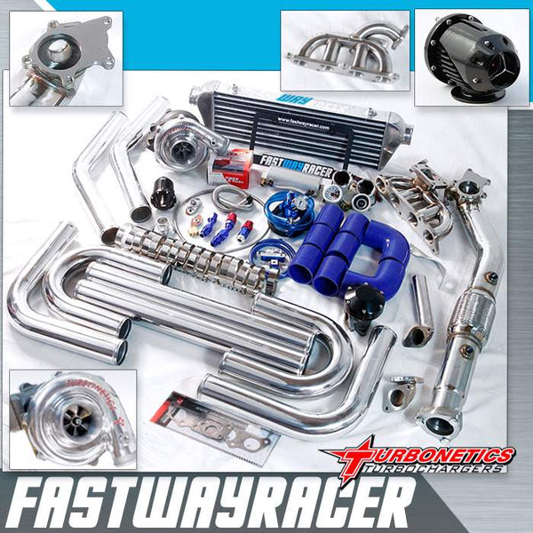 00-05 Toyota Celica GTS 2ZZ-GE T3/T4 Turbo Kit with Turbonetics Turbo Charger