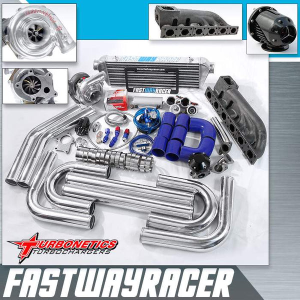 01-07 BMW 325I E46 V6 T3/T4 Turbo Kit with Turbonetics Turbo Charger