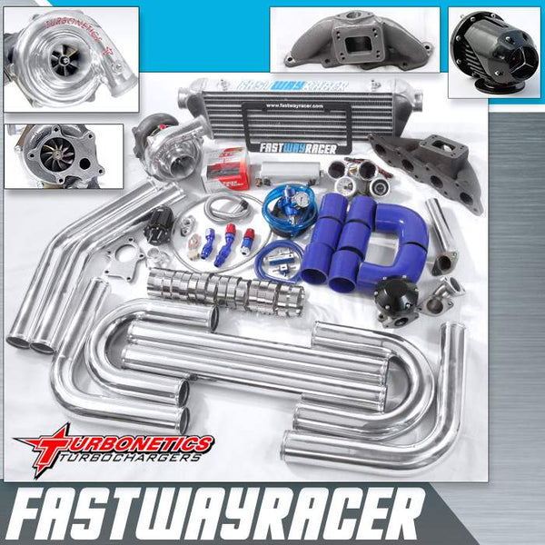 00-04 Nissan Xterra KA24DE 2.4L T3/T4 Turbo Kit with Turbonetics Turbo Charger
