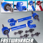 01-05 Honda Civic Blue Adjustable Front and Rear Camber Kit