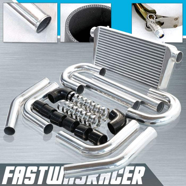 Universal Black 3.0&#39&#39 FMIC Intercooler Piping Kit