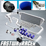 88-00 Honda Civic B-Series/D-Series Bolt On Intercooler Kit & SSQV Turbo Blow Off Valve Bov