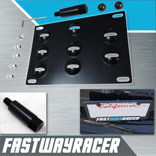 09-13 Nissan 370Z Front License Plate Mount Kit