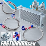 Universal 19 Rows Oil Cooler Kit
