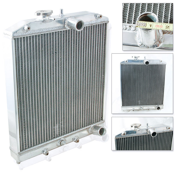 93-97 Honda Del Sol Manual 2 Rows Aluminum Radiator