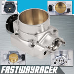92-99 Honda Prelude H Series Version 2 Silver 68MM Bolt On Aluminum Throttle Body