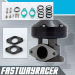 Universal Black 38MM 7PSI - 33PSI Adjustable Turbo Wastegate