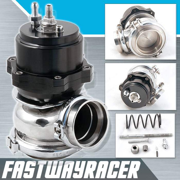 Universal Black 60MM V-band Adjustable Turbo External Wastegate