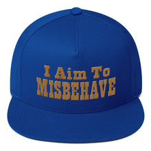 Load image into Gallery viewer, I Aim To Misbehave - Snapback Hat