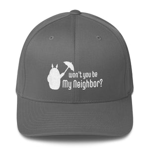 Be My Neighbor Flexfit Structured Twill Hat