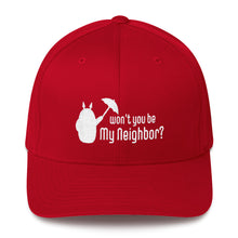Load image into Gallery viewer, Be My Neighbor Flexfit Structured Twill Hat