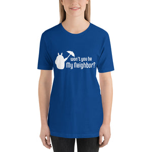Be My Neighbor Unisex Short Sleeve Jersey T-Shirt