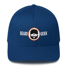 Load image into Gallery viewer, Beard Geek - Flexfit Structured Twill Hat