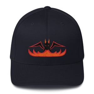 Black Dragon Fire - Flexfit Structured Twill Hat