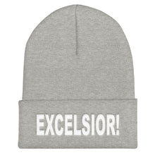 "Load image into Gallery viewer, Excelsior! 12"" Cuffed Beanie"