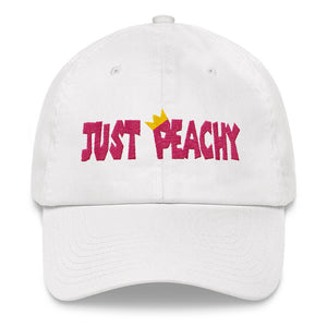Just Peachy Unstructured Classic Dad Hat