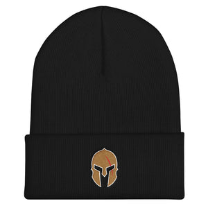 "Warrior Helmet - 12"" Cuffed Beanie"