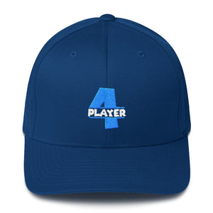 PLAYER 4 Flexfit Structured Twill Hat
