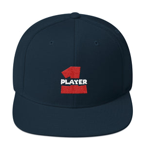 PLAYER 1 Snapback Hat
