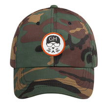 Load image into Gallery viewer, the Geek in the Hat - Logo - Unstructured Classic Dad Hat
