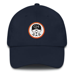 the Geek in the Hat - Logo - Unstructured Classic Dad Hat