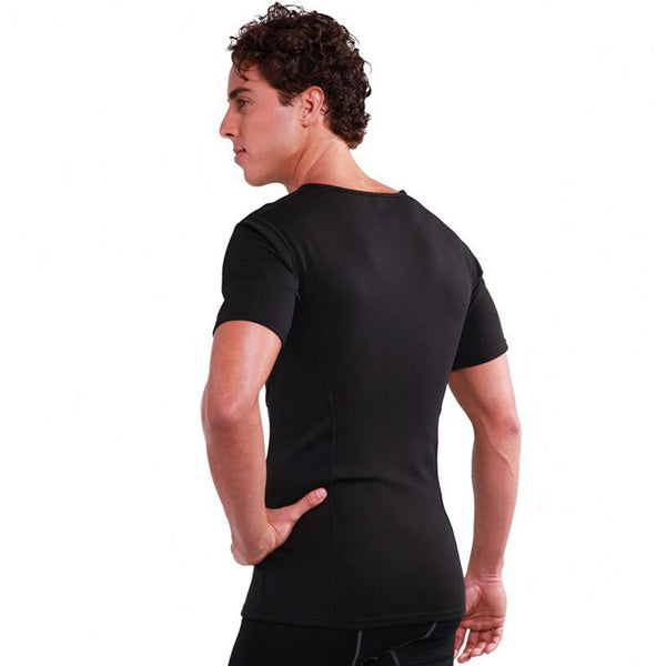 Waist Trainer Mens Slimming Shirt