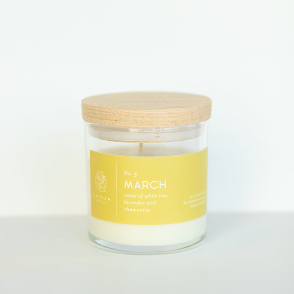 4.5oz Lanua Candle - March