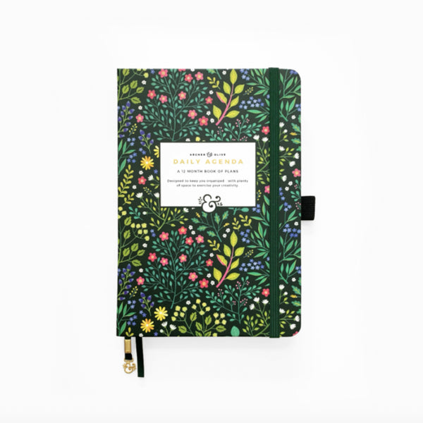 Verdant Ventures Undated 12-Month Planner